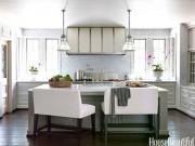 Nhà đẹp - 13 kiểu bàn bếp độc nhất hớp hồn nàng