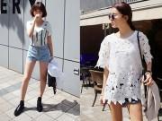 Thời trang - Những chiếc quần sooc không thể ngắn hơn