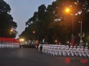 Hình ảnh trước lễ Diễu binh chào mừng 40 năm giải phóng miền Nam