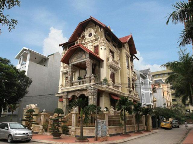 Đẹp lộng lẫy ngôi biệt thự phong cách Pháp của đại gia Hà Nội