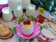 Sữa chua kem tươi mascarpone thơm mát bổ dưỡng cho bé