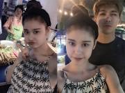 """Làng sao - Trương Quỳnh Anh """"xì tin"""" đi ăn cùng Tim ở Thái Lan"""