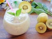 Bếp Eva - Sinh tố kiwi đẹp da, bổ dưỡng