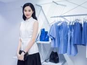Thời trang - Hoa hậu Thu Thảo ngọt lịm với váy sơ mi trắng