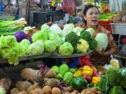 Mua sắm - Giá cả - Rau củ tăng giá mạnh