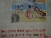 Giáo viên phản ứng với đoạn văn dạy trẻ lớp 1 trong sách Tiếng Việt