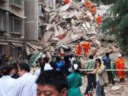 Tin tức - TQ: Nhà 9 tầng bất ngờ đổ sập, 21 người mất tích