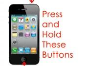 Cách xử lý khi iPhone, iPad bật không lên màn hình