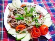 Bếp Eva - Đơn giản với thịt bê xào cần tỏi