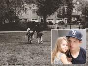 Làng sao - Nhóc Harper được bố Beck cho đi tập xe đạp