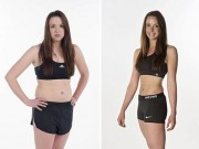 Làm đẹp - Cô gái giảm cân nhanh để mặc bikini