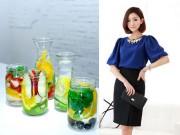 Làm đẹp - Detox bằng nước trái cây: Thanh nhiệt, giải độc, giảm cân nhanh