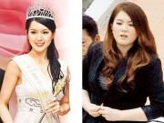Làng sao - Hoa hậu Quốc tế Trung Quốc xuống sắc vì béo ú