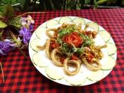Bếp Eva - Tai lợn xào sả ớt giòn giòn, lạ miệng