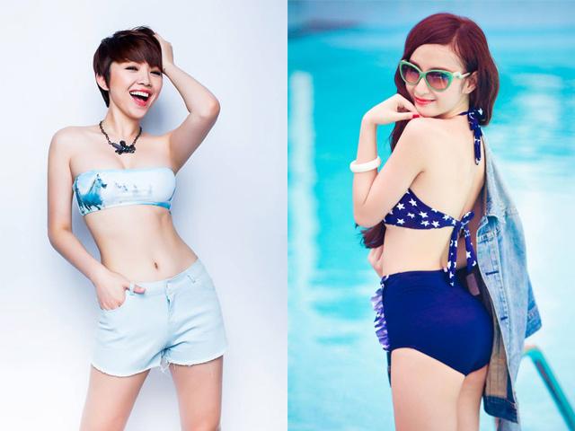 Những người đẹp chăm chỉ khoe eo thon nhất showbiz Việt