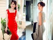 Thời trang - Hoa hậu Thu Thảo thả dáng ngọc ngà bên ban công