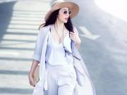 Thời trang - Tuần qua: Ngơ ngẩn vì thềm ngực trắng nõn của Thủy Tiên