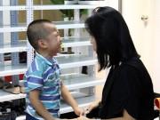 Thanh Vân Hugo nghiêm khắc dạy con trong họp báo