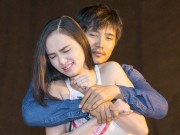 Làng sao - Hoa hậu Diễm Hương áp lực khi lần đầu đóng kịch