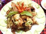 Bếp Eva - Lạ miệng với cá trắm chiên sả ớt