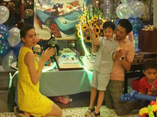 Hồ Ngọc Hà, Cường Đô La tái hợp mừng sinh nhật Subeo