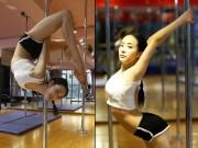 Làm đẹp - Cô gái múa cột xinh đẹp dáng chuẩn khiến dân mạng phát 'cuồng'