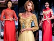 Thời trang - Quanh Đi, Lan Khuê, Minh Triệu đọ đường cong