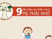 9 dấu hiệu con thiếu canxi mẹ phải nhớ