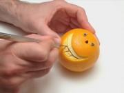 Clip Eva - Vài phút tỉa cam hình mặt cười ngộ nghĩnh
