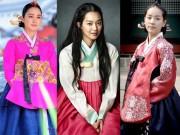 Thời trang - Chấm điểm sao Hàn mặc áo Hanbok truyền thống