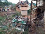 Tin tức - Xem xét khởi tố vụ xe tải làm sập cầu ở Đắk Lắk