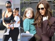 Những cặp mẹ và con gái nổi tiếng có mái tóc đồng điệu