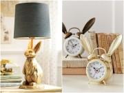 Những món đồ nội thất siêu dễ thương cho nàng yêu thỏ