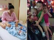 Bà bầu - Mẹ Việt 4 lần mang thai đều ăn chay, sinh 5 con khỏe mạnh