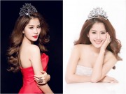Hậu trường - Hoa khôi Nam Em đội vương miện, xinh đẹp như nữ thần