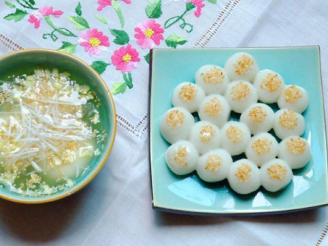 Ý nghĩa của bánh trôi, bánh chay trong ngày Tết Hàn thực
