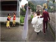 """Ảnh  """" độc """"  về đám cưới lần 3 của Hiệp Gà"""
