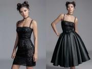 Thời trang - Minh Tú khoe đường cong căng tràn với mốt ren đối xứng