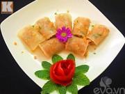 Bếp Eva - Củ cải cuộn tôm thịt hấp siêu ngon