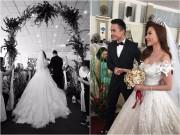 Làng sao - Đám cưới ấm cúng tại quê nhà của Lương Thế Thành - Thúy Diễm