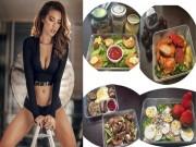 Làm đẹp - Thực đơn giảm cân ăn là đẹp của Minh Tú