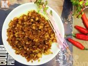 Bếp Eva - Thịt băm rang riềng đơn giản, trôi cơm