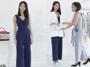 Tư vấn mặc đẹp - Cách mix đồ để nữ công sở chân ngắn trông cao như 1m7