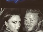 Làng sao - Beckham chúc Victoria một sinh nhật ngọt ngào