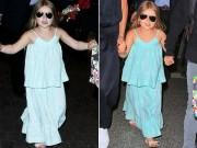 Làng sao - Nhóc Harper đeo kính đen cực ngầu, đáng yêu bên mẹ