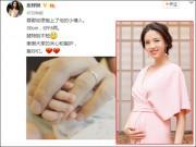 Làng sao - Hoa hậu Thế giới Trương Tử Lâm sinh con gái