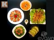 Bếp Eva - Thực đơn 5 món nhìn là mê ngay!