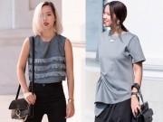 Thời trang - Street style tuần: Màu xám đang làm chị em say như điếu đổ
