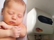 Những vụ trẻ mang họa thương tâm vì tắm bình nóng lạnh sai cách