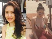"""Làng sao - """"Nữ hoàng phim bi"""" khoe ảnh diện bikini du lịch Hội An"""